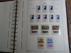 Israel 1982/2002 – Extensive collection in Leuchtturm album