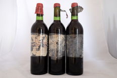 1974 Chateau Cos d'Estournel, Saint-Estephe, Grand Cru Classe, France, 3 bottles