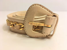 Chanel - Belt with 24kt gold plated chain - approx. 1989