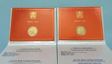 "Vatican - 2 euro 2016 ""Police Vatican"" and 2 euro 2016 ""Compassion"" (2 pieces) in blisters"