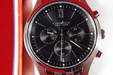 Caravelle New York Chronograph - wristwatch.