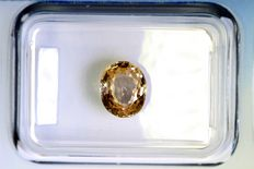 Sapphire – 1.39 ct – pink brown.