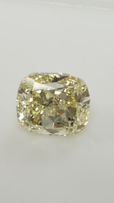 1.09 ct - Cushion - Yellow - SI1