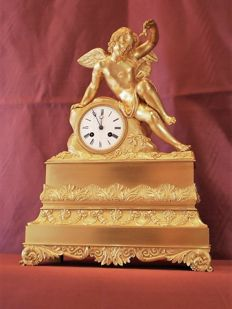 French Louis-Philippe Restoration Clock - Around 1830
