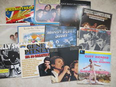 POP, ROCK Various Artists  - lot of 12 (double) LP's - stars of the sixties