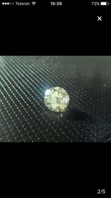Brilliant cut diamond, 1.29 ct, Natural Fancy Top Light Brown SI1