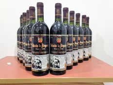 12 Palacio of Arganza Crianza 1985, mythical winery in the zone