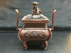 Copper incense burner - China - late 20th/21st century