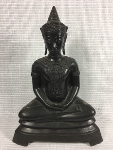Buddha / bronze - Burma - second half 20th century