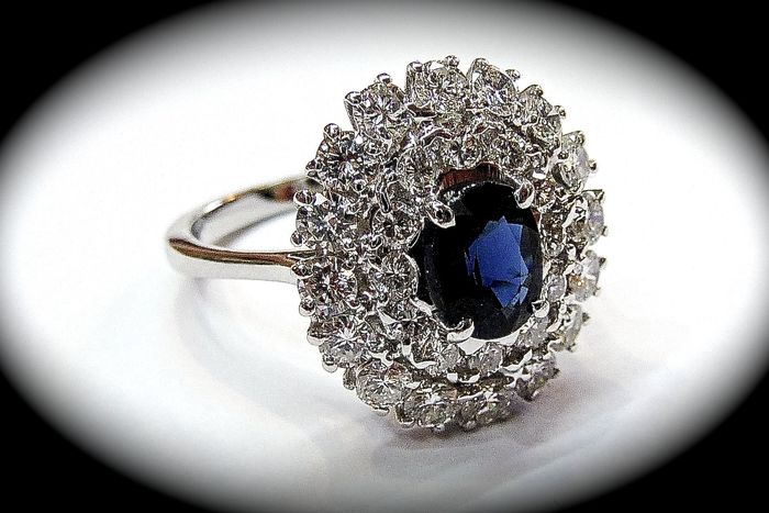 Or - Bague - 2.49 ct Diamant