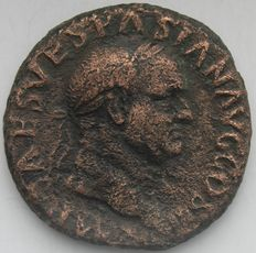 Roman empire (Rome)  - AE Vespasian As 71 AD - Bronze