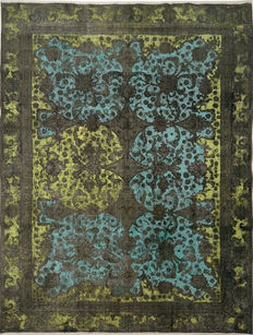 Handmade Persian Coloured Vintage NEW DESIGN 365 × 277 cm