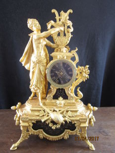 Beautiful French table clock - Circa 1880