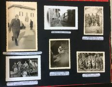 Photo album; 35° infantry regiment. Brigade Pistoia - 1933/1940