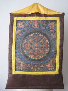 Buddhist Thangka - Tibet/Nepal - second half of the 20th century