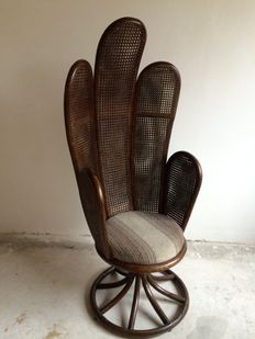 Unknown designer – vintage peacock chair