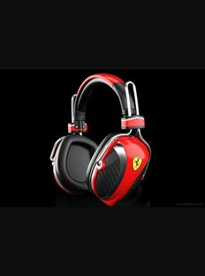 Ferrari- Headphones P200 - Scuderia Ferrari Formula 1 - Design - Comfort and Accessories