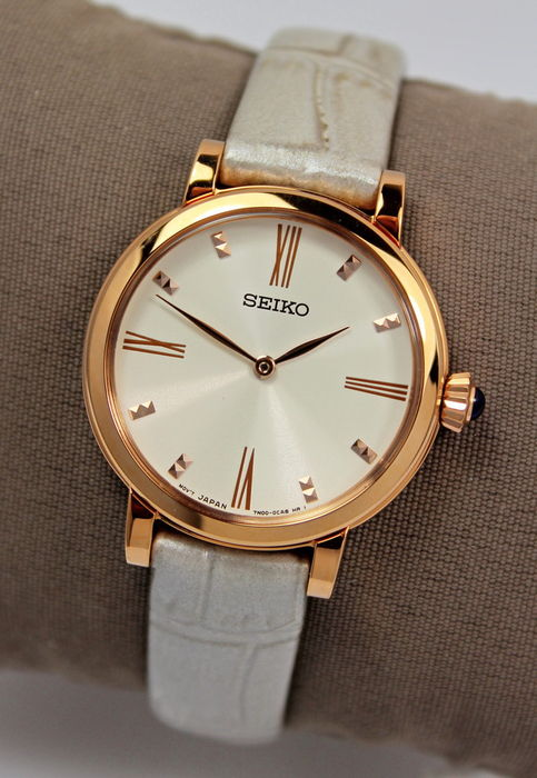 SEIKO – Ladies Gold Plated – Watch – New & Mint Condition