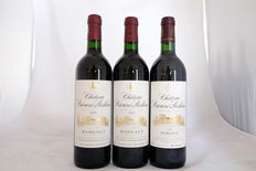 Chateau Prieure-Lichine, Margaux, Grand Cru Classe, France, three bottles in total, two from 1997 and one from 2002
