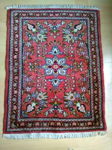 "From 1€!!ery beautiful Persian rug""Lilian"" with floral ptterrns very good condition70×90cm"