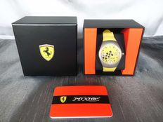 Ferrari Pit Stop yellow - men's wristwatch