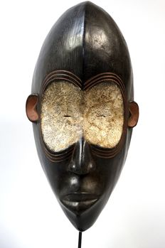 African face mask used by the Dan tribe