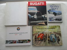 Lot of 4 Automobile books - beautiful reference works