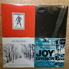 Joy Division II Four LP's II Live and Demo recordings