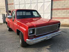 Chevrolet - Cheyenne stepside - year 1975