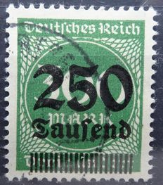 German Empire 1875/1923 – Selection between Michel 37 and 300