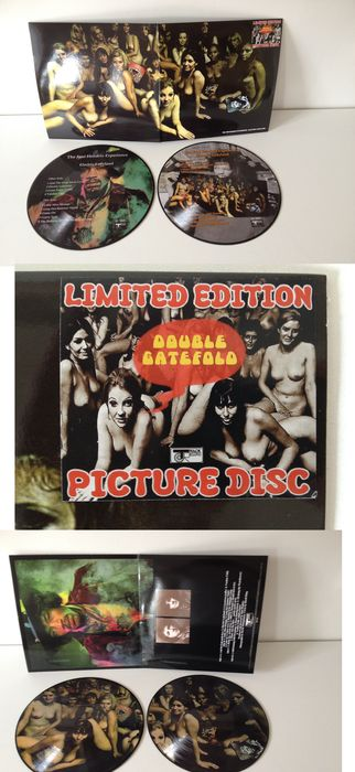"The Jimi Hendrix Experience 2 LP Picture Disc Set  "" Electric Ladyland """