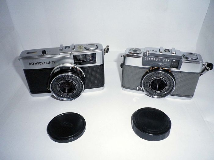 Olympus Trip 35 35mm Camera And Pen Ee 2 Half Frame Camera Catawiki