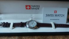 Watch SWISS MADE with date for calendar