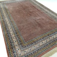 "Signed Mir – 310 x 197 cm – ""Oriental carpet in old pink – In beautiful condition"""
