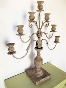 A very nice and large candle holder