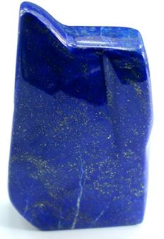 Natural Lapis Lazuli tumble with Golden Pyrite inclusions - 144 x 75 x 28mm - 732gm