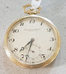 International Watch Co. Schaffhausen – pocket watch - circa 1928