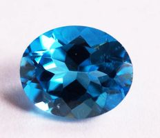 Topaz - Swiss Blue - 4.52 ct