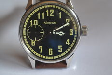 Pilot Molnija Avia – men's wristwatch