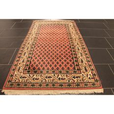 Beautiful hand-knotted oriental carpet, Sarough Mir, 160 x 90 cm, made in India, end of the 20th century