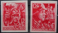 German Empire 1941/1945 - Five entire years - Michel 762/910
