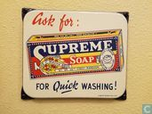 Supreme Soap sign from Burma