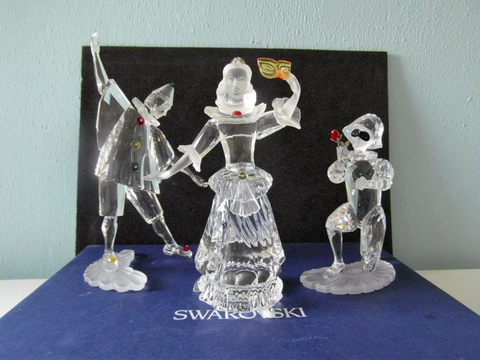Swarovski - Complete set of Annual Editions from the Masquerade series.