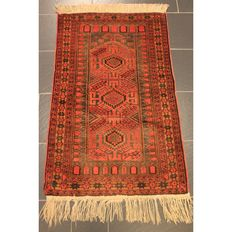 Antique handwoven Persian collector's carpet Belutsch around 1930 Collector Rug Carpet Tappeto Rug Made in Iran 120 x 80 cm