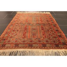 Antique handwoven Persian collector's carpet Belutsch around 1930 Collector Rug Carpet Tappeto Rug Made in Iran 130 x 95 cm