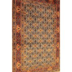 Regal hand-woven Moud Mut Persian rug 150 x 100 cm, Made in Iran around 1990
