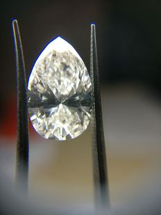 Natural diamond for 2.58 ct, colour: G, clarity: SI1