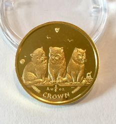 Isle of Man - Crown 2006 1/5 oz Exotische Kurzhaarkatze