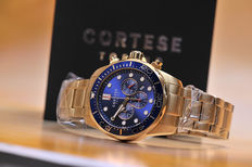 Cortese Nautilo Diver Quartz Chronograph - Men's watch - Never worn - New condition 718-2017