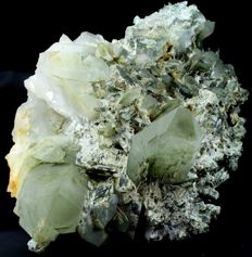 Huge Double-sided, Green Chlorite included Quartz Crystal Cluster - 300 x 290 x 160 mm - 7.3kg